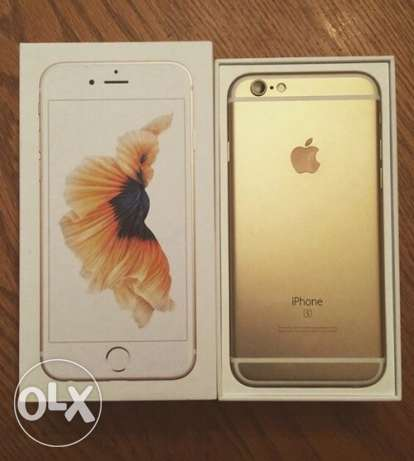 iPhone 6s 64 gb gold with FaceTime الرياض -  1