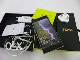 Infinix zero3 with only one month used with back cover and flip cover
