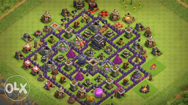 clash of clans COC قرية كباش اوف كلانز