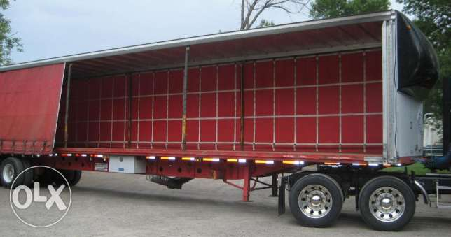 brand new curtain sider trailers for sale
