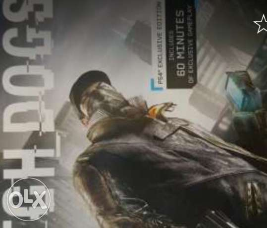 watch dogs 1 for sale