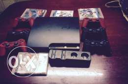 ps3 modified 6controller and games