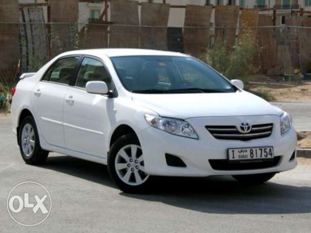 Urgent need a toyota corolla model 2008
