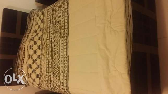 In a very good condition Full bed