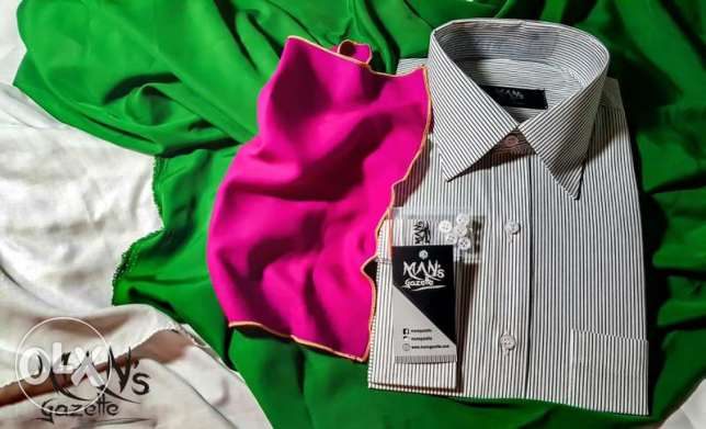 Shirts For Men , Intelligent Collar, UK Tech ( Brand : MAN's Gazette)