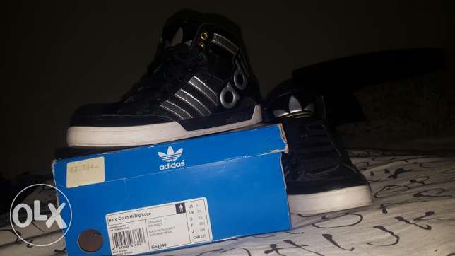 Adidas originals Hard Court Hi |size 38.5, US 6, UK 5.5