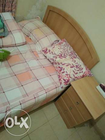 Single bed with cabinet for sale