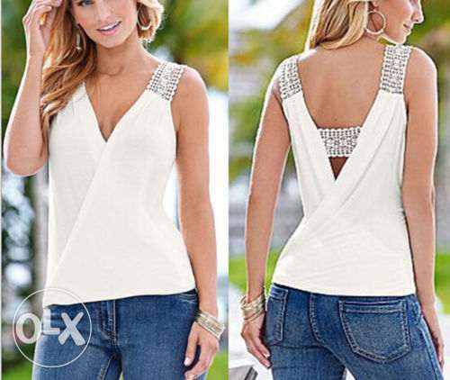 Sleeveless Top Women Fashion Summer