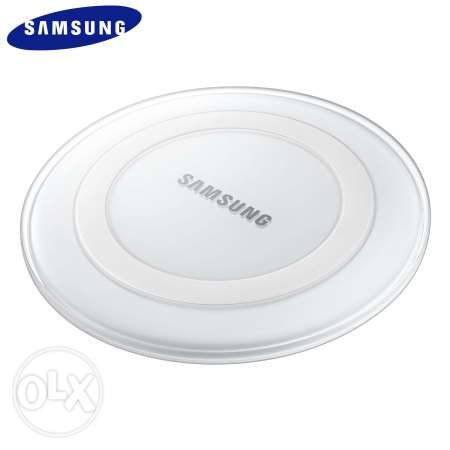 wireless charger samsung white New