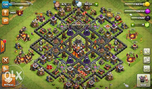 Clash of clans TH10 change name available