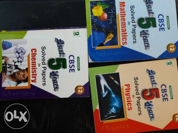 IIT-JEE,CBSE CLass 11 and 12 guides for sale