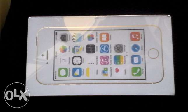 Iphone 5s - 16 GB - Gold - New - 850 SR