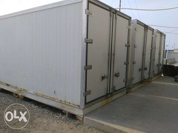 Walk in chillers and freezers almost new can be used for catering companies and camps for sale