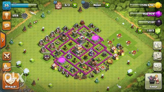 Clash of Clans 4 Sale