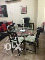 Glass Dining Tables with chairs
