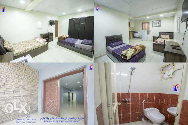 A furnishe flat for family rent Almalaz behind Alflah for renting cars