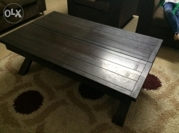 Home Center solid wood table for sale (King Fahad/Olaya)