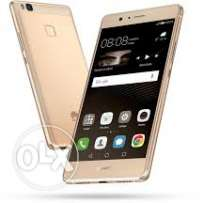 P9new phone for seal.with box and warranty.gud battery timing