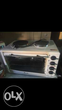 Electric oven minikitchen