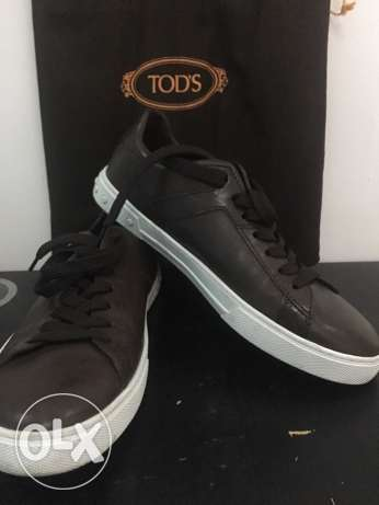 tod's shoes casual size 7 men