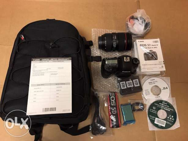 bill eos dslr 5d mark4 with warranty slip new