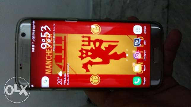 Exchange s7 edge. with iphone 6s+ or (iphone 7+ me add money)