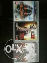 4 Classy Games of Ps3 For Sale in cheap prices !! (Or exchange)