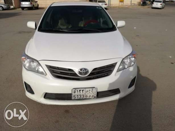 Toyota Corolla Model 2013 Automatic