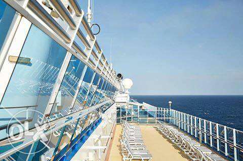Job Vacancy in PRINCESS CRUISE SHIP with free Accommodation