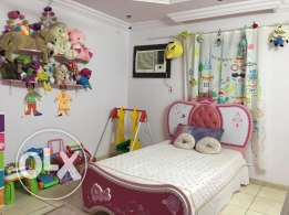 Prcines Kids Room Furniture Bed, matress & Book Shelf frm Centerpoint