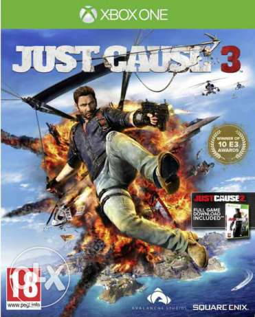 Just cause 3 (NEW) xbox one