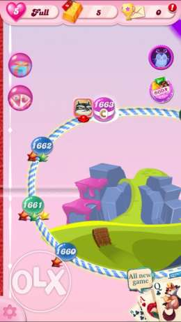 Candy Crush account for sale 1750 level