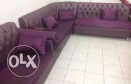SAR 400 / U shape Sofa in good condition for only 400 riyals!!