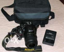camera nikon d5200 zoom18-55 VR kit prof. for sale
