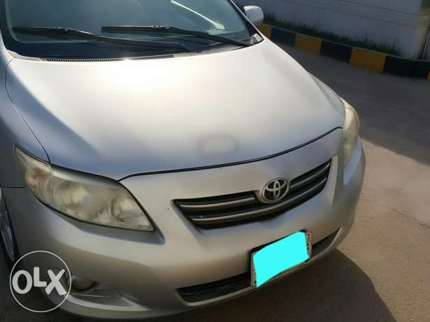 Single owner corolla with valid fahas