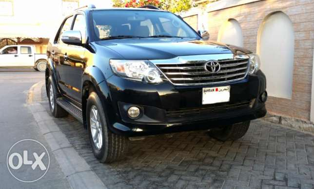 Toyota fortuner 4x4 2013 6 cylender