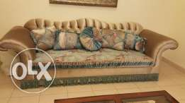 Sofa set 3 + 2 brand new condition
