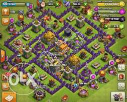Clash Of Clans - TH7 Max for sale