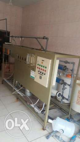 drinking water filling station (محطة مياه الشرب) want to sale