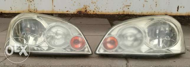 Chevrolet Optra front lights