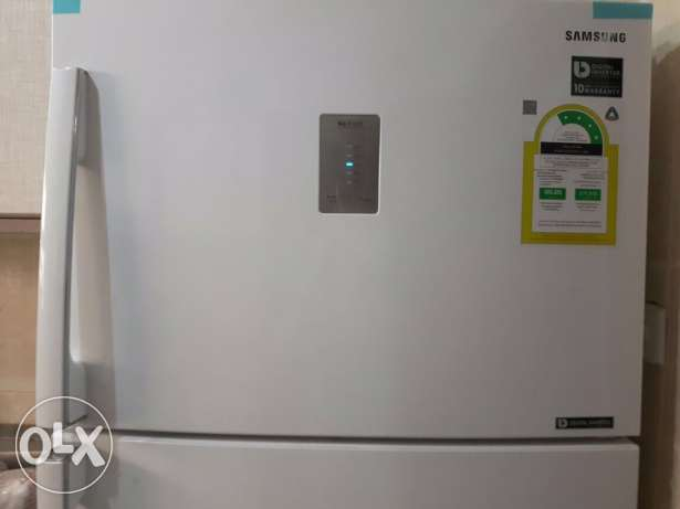 Samsung refrigerator 17.85ft -excellent condition- New- Travel reason الرياض -  2
