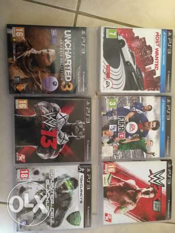 PS3 Games, excellent condition