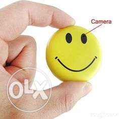 Smiley Badge spy Camera HD High Resolution