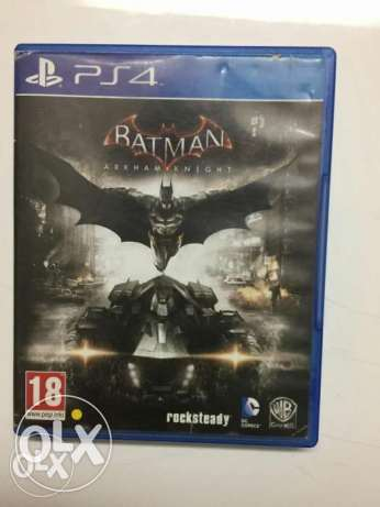 Batman: arkham knight , Metal Gear , Fifa16