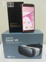 S7 Edge Pink gold colour + Gear VR
