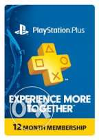 حساب playstation plus 1 year
