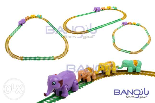 Toy Train - Elephant shape train - العاب القطار