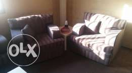 Rarely used 3month sofa set for sale
