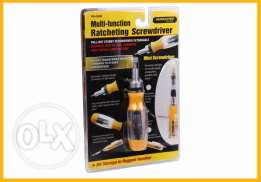 Ratcheting Multi-Function Screw drivers