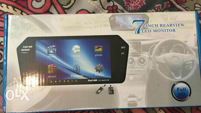 """LCD 7"""" With Rear View Camera Brand new"""